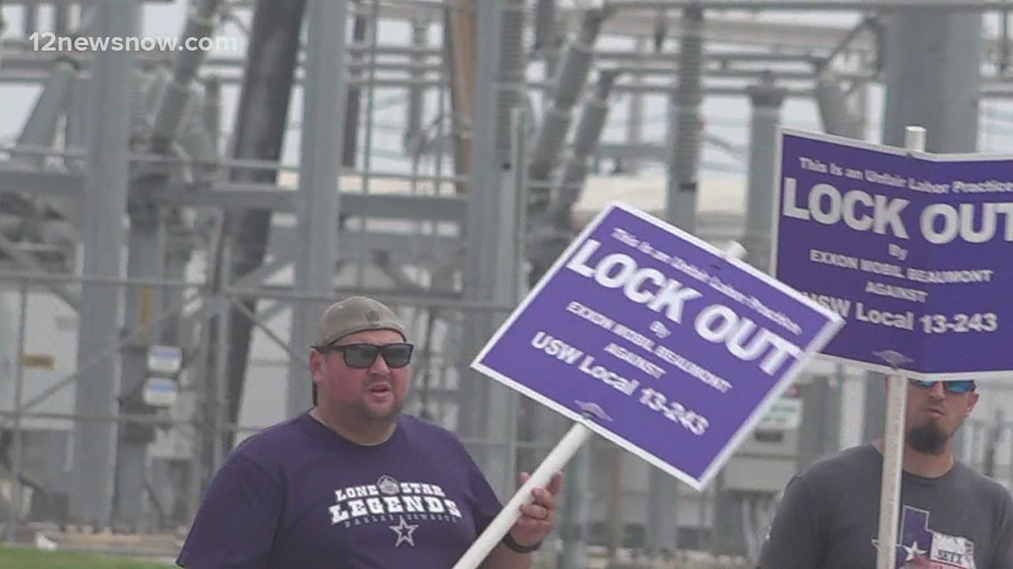 Negotiations continue between United Steelworkers, ExxonMobil amid lockout