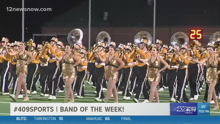 Nederland High School wins the week 5 Band of the Week contest