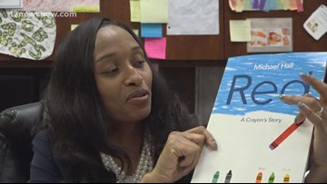 Beaumont principal reads bedtime stories to students via Facebook Live