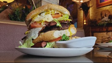 Brandon's Wood Fired Grill Goes Big With the King Kong Burger