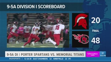WEEK 8: Port Arthur Memorial HS takes out Porter 48 - 20 in the 409Sports Game of the Week