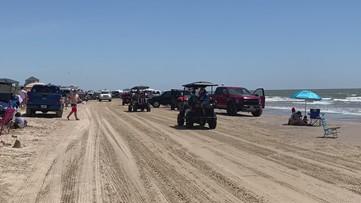 Big crowds at Crystal Beach during coronavirus pandemic