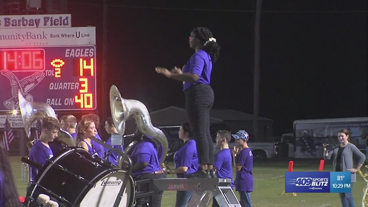 Newton High School takes Band of the Week for week 4