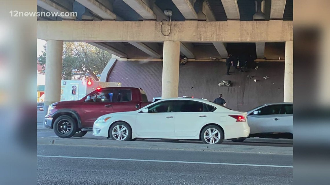 Death investigation ongoing after body found at I-10 underpass on College Street