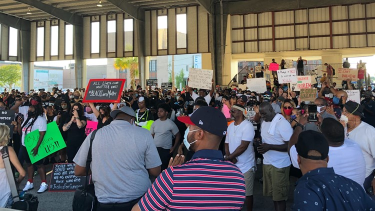 Peaceful protests continue in Southeast Texas following George Floyd's death