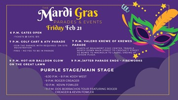 Q&A: What to expect at MardiGras of Southeast Texas this weekend!