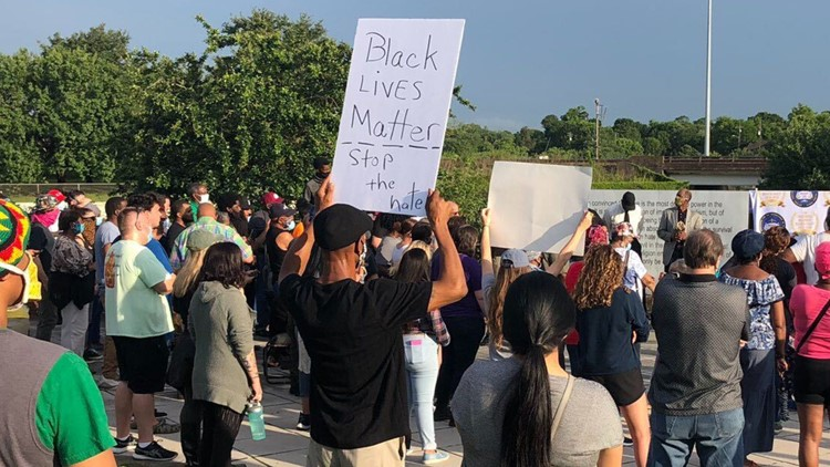 George Floyd's death draws law enforcement, large crowds to Beaumont's NAACP rally