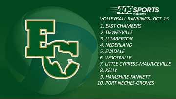 409Sports Volleyball Rankings: October 15