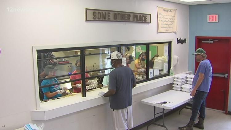 'Some Other Place' volunteers serve hundreds of hot meals to those in need
