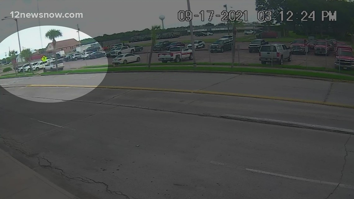 Police searching for driver who went on a crashing spree in Port Arthur