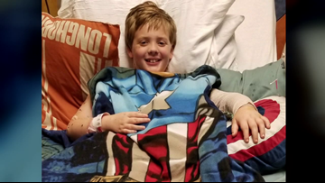 'Strongest kid we know,' Beaumont boy finally home after dog attack, 13 surgeries