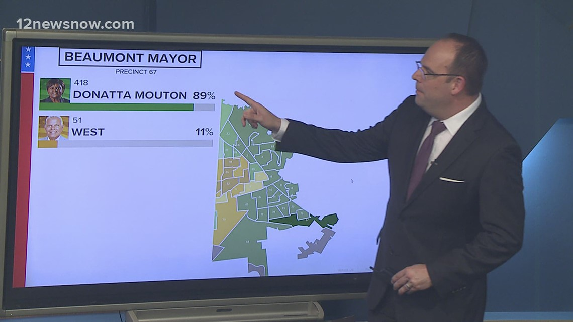 Ward by ward breakdown shows how Beaumont voted in mayoral runoff