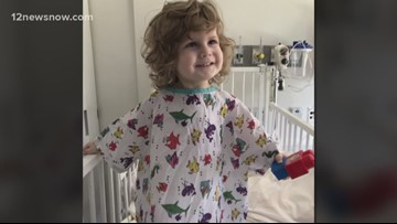 Family battles rare bone marrow disease for the second time as toddler fights for his life