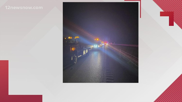 Monday night wreck claims lives of Houston man, San Antonio woman along IH-10 west of Beaumont