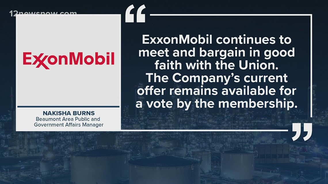 ExxonMobil, USW union to meet Thursday with the hope of reaching a deal