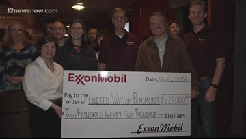 United Way receives $225K from ExxonMobil to help with continued Imelda recovery, other programs