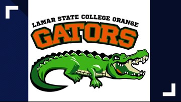 Lamar State College Orange adopts 'Tilley the Gator' as new mascot, honors former Louisiana WWII lieutenant
