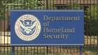 Acting Secretary of Homeland Security, Kevin McAleenan, touring a detention center near McAllen, Texas