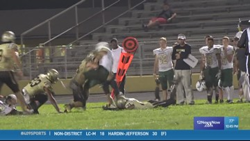 WEEK 5: Nederland High School's Jordon Huckabay gets the 409Sports 'Ram Tough Hit of the Week'