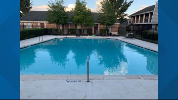 Toddler found floating in Beaumont apartment pool, rushed to hospital