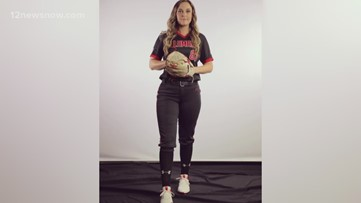 Lamar's Jade Lewis is like many seniors, choosing life goals over an extra year competing