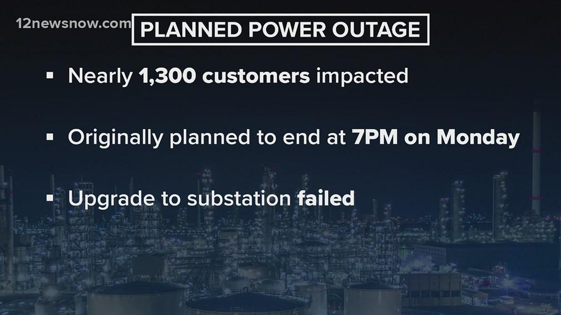 Power outages continue for thousand living along Bolivar Peninsula