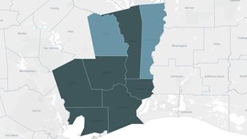 Tracking COVID-19: Southeast Texas coronavirus tracking maps