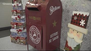 Buna's USPS helps Santa answer wishlist letters
