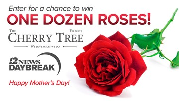 Enter to win a dozen roses for Mother's Day