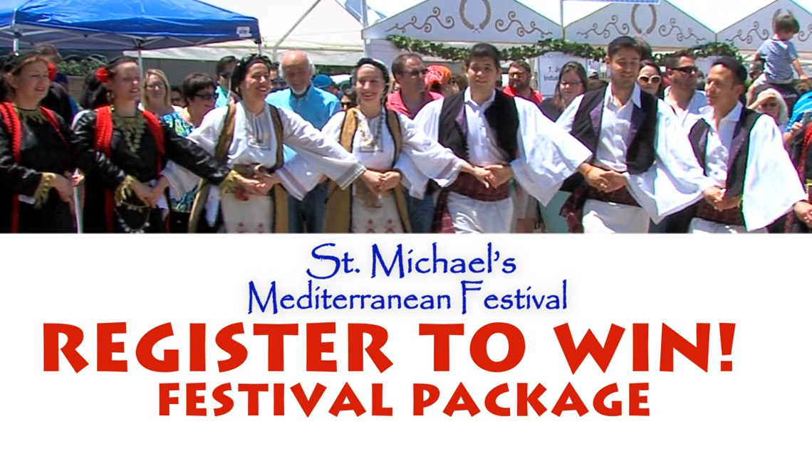 Win $65 worth of food, fun at the 2019 St. Michael's Mediterranean Festival