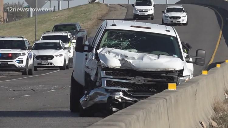 Fatal crash closes Hwy 69 near Central Mall in Port Arthur