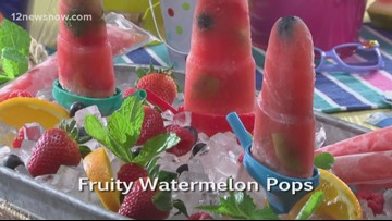 Mr. Food makes Fruity Watermelon Pops