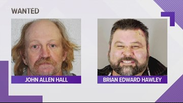 Jefferson County authorities looking for two wanted for sex crimes