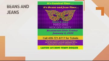 Beans & Jeans Mardi Gras Kick Off Party livens up downtown Beaumont this weekend