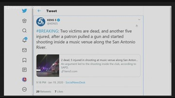 Suspect on the run after fatal San Antonio River Walk shooting