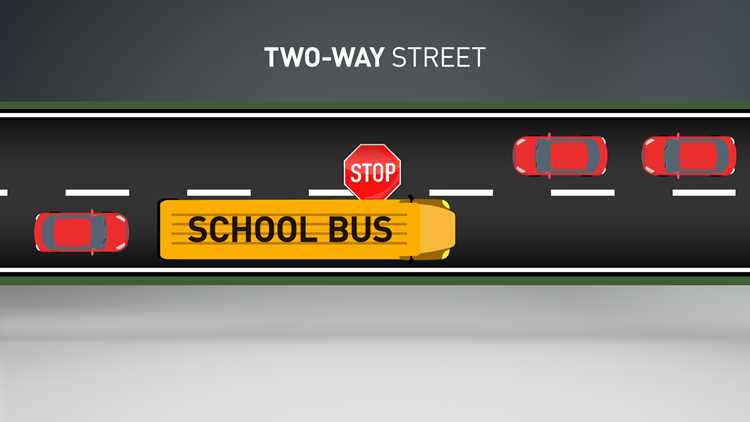 School bus road rules