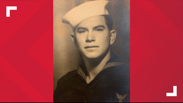 'The good Lord was with me:' Bridge City veteran recalls surviving attack on Pearl Harbor