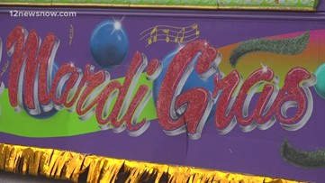 Mardi Gras of Southeast Texas brings floats to Beaumont ahead of weekend parades
