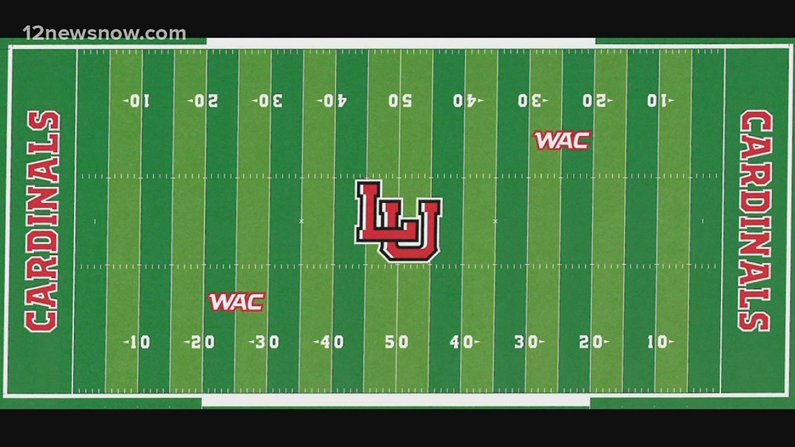Lamar turf project is moving along