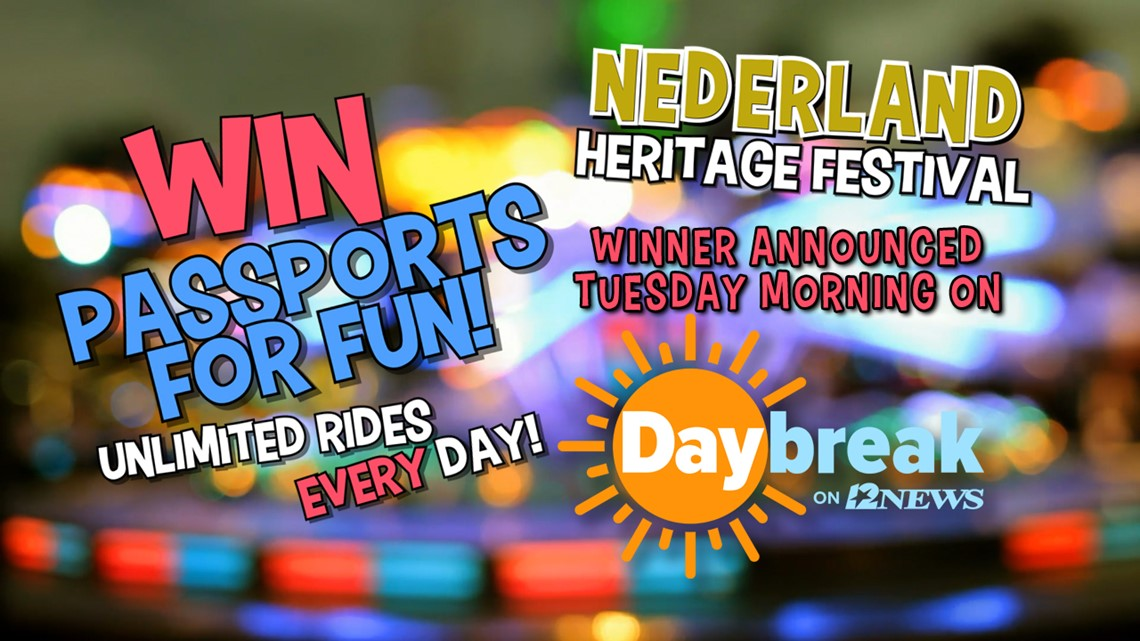 Win a pair of 'passports to fun' for the Nederland Heritage Festival