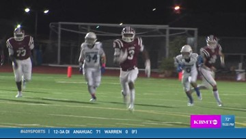 Jasper High School's Cameron Adams makes the week 7 Play of the Week