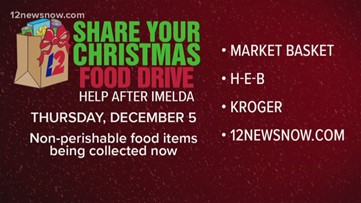25th Annual Share Your Christmas Food Drive