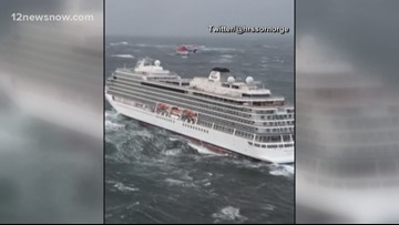 Two Beaumont sisters relieved after being stuck at sea on Viking Sky cruise