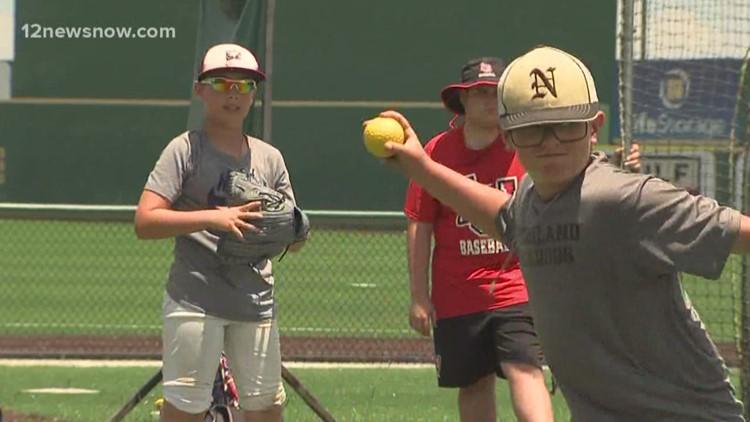 Lamar Baseball host annual summer camp