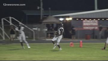 Woodville High School squeaks by Hardin-Jefferson 36 - 35