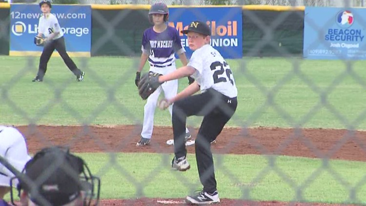 Port Neches 11's cruises past Nederland to advance to the District 32 Championship