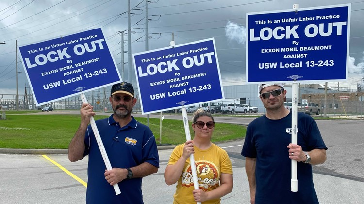 ExxonMobil initiates lockout of United Steelworkers union after failing to reach agreement