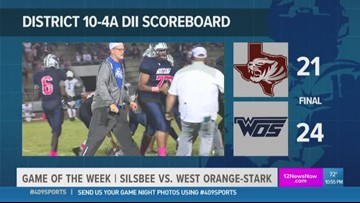WEEK 7: More Game of the Week highlights from WO-S High School's 24 - 21 win over Silsbee