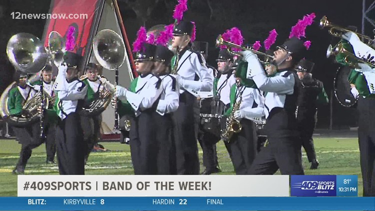 Little Cypress-Mauriceville High School wins Band of the Week for week 8