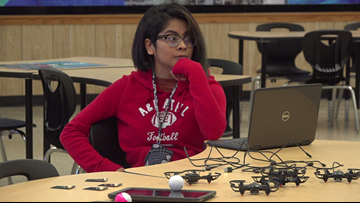 Beaumont teen looks to break barriers in male-dominated tech industry